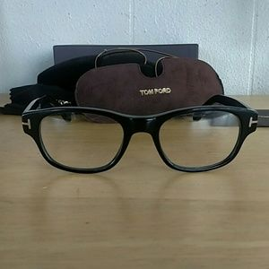 Tom Ford Eyeglasses with clip on Shades